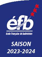 C'est le logo de l'École Francaise de Badminton 2 étoiles